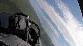 F-15 Low-Level Flying in Scotland