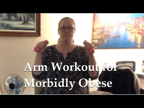 Short Arm Workout for Morbidly Obese | Low Impact Weight Training | Progress not Perfection