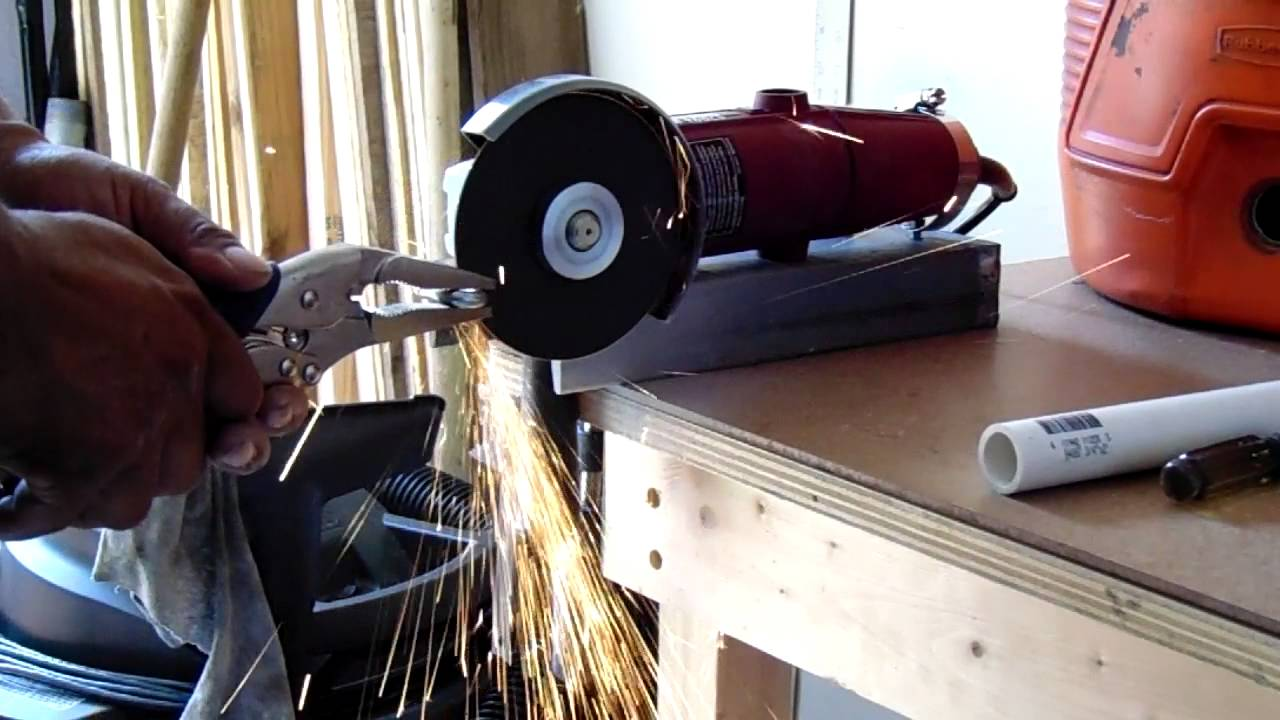 How To Use Your Angle Grinder Like A Cutting Wheel A