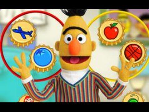 Sesame Street Bert's Bottle Caps - Gameplay | games for ...
