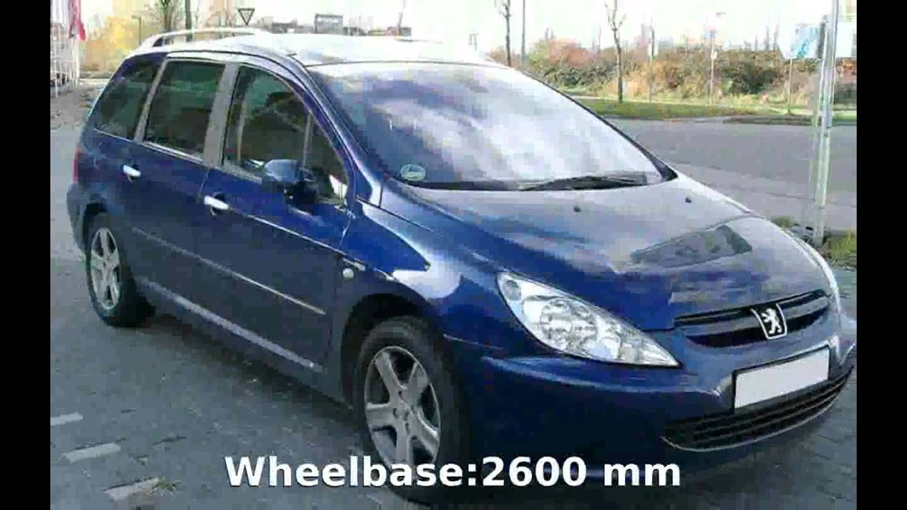 2002 peugeot 307 sw - specs, review - youtube
