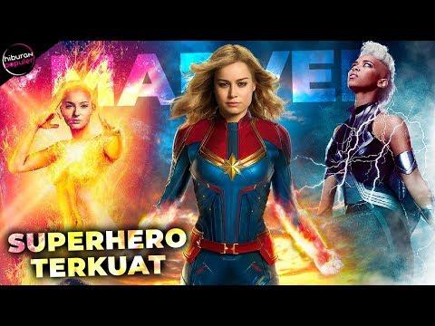 10 Superhero Wanita Terkuat di Jagad Marvel Universe