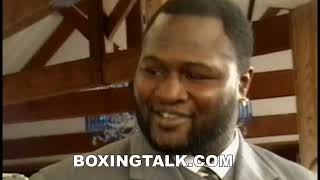 Boxing Legend James Toney Oozing Charisma At Tavern On The Green---Boxingtalk Classic