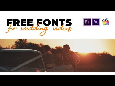 79 BEST FREE Romantic Fonts / Wedding Fonts