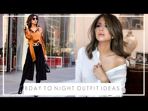 8 DAY TO NIGHT OUTFIT IDEAS | Lily Silk Haul & Styling Ideas | JASMINA PURI