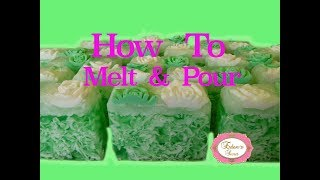 How to Melt and Pour Crystal Soap
