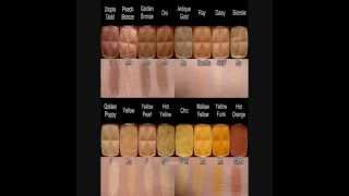 Nyx 162 Eyeshadows. Complete Updated Version With The 50 Retired Shades..