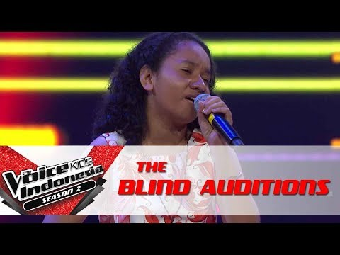 Yosi 'Can't Help Falling In Love' | The Blind Auditions | The Voice Kids Indonesia Season 2 GTV 2017