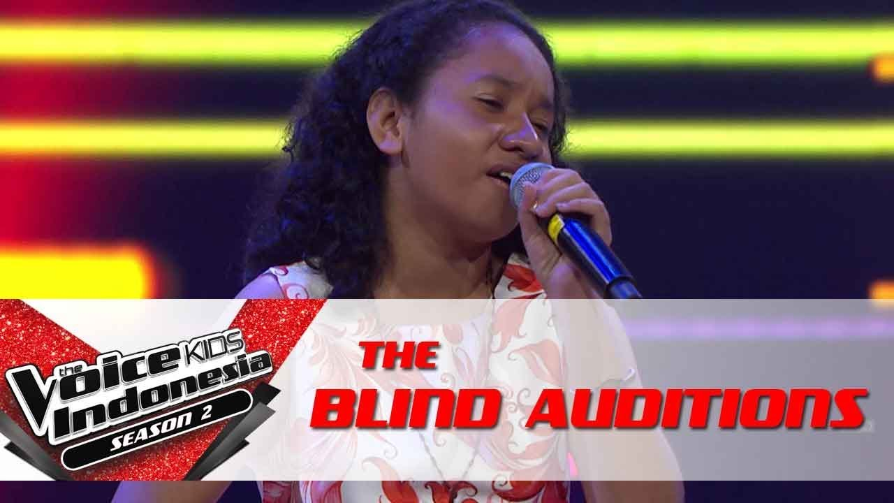 Yosi 'Can't Help Falling In Love'   The Blind Auditions   The Voice Kids Indonesia Season 2 GTV 2017