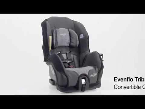 Evenflo Tribute LX Convertible Car Seat, Saturn - YouTube