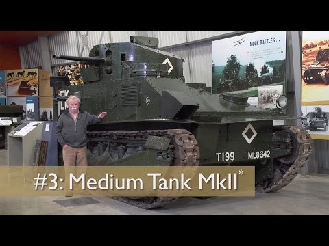 David Fletcher's Tank Chats #3 Medium Tank MkII* (Vickers Medium) | The Tank Museum