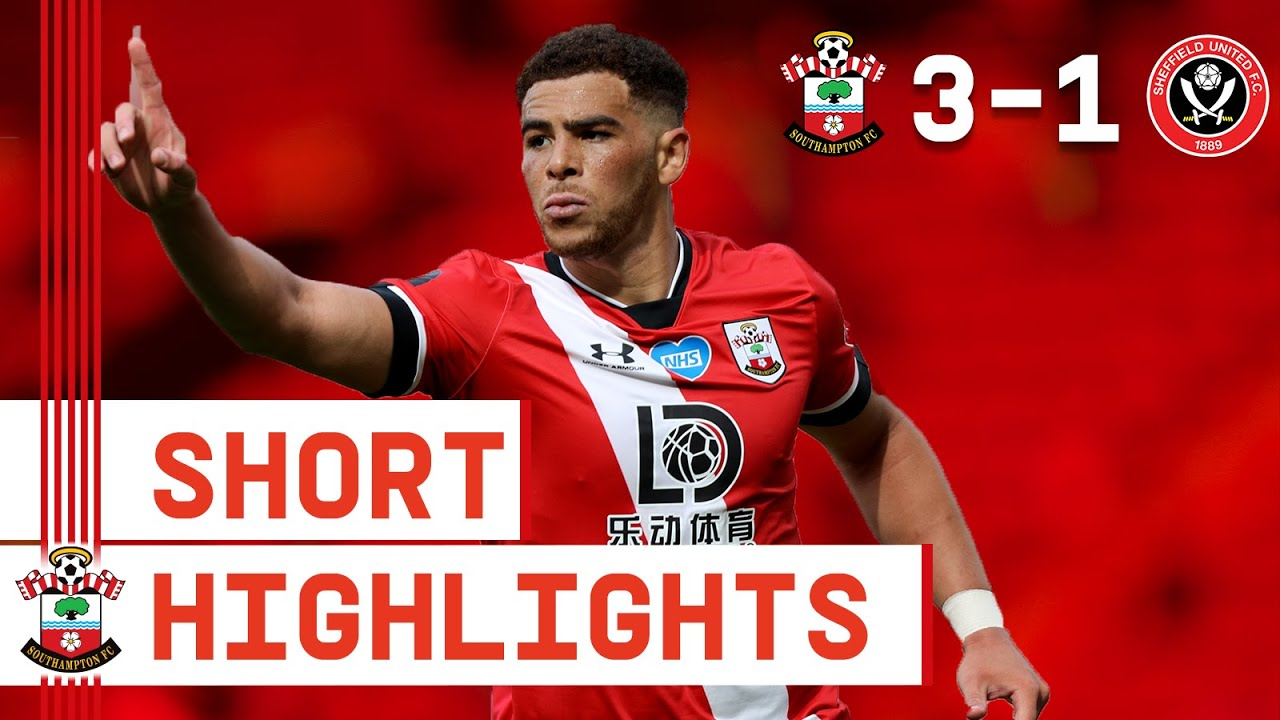 90-SECOND HIGHLIGHTS: Southampton 3-1 Sheffield United | Premier League