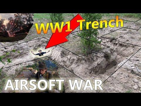 Backyard Trench Airsoft War   Trailer 2018