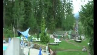 2010 - Camping Tirolcamp in Fieberbrunn Oostenrijk 2010