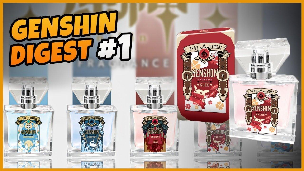 Diluc & Mona Perfume, Aloy Webtoon Event, & More!  Genshin Digest #1
