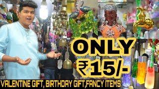 Wholesale Gift Item Market | Starting At Rs.15 | valentine gift , Birthday Gift |Sadar Bazar | Delhi