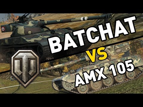 World Of Tanks || BatChat Vs AMX 13 105