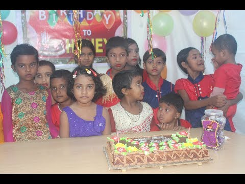 Huge food preparing for birthday program in village