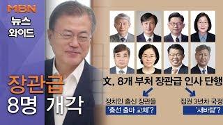[백운기의 뉴스와이드] 장관급 8명 개각 '극과 극' 반응…조국