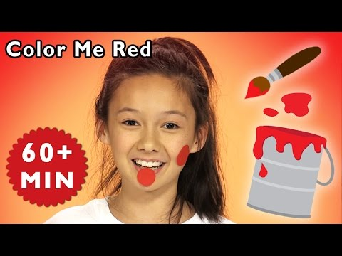 Color Me Red and More | Play Messy Color Game | Baby Songs from Mother Goose Club!