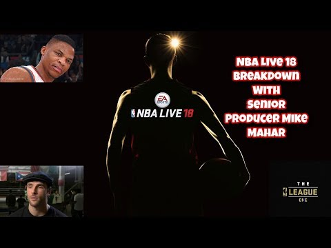 Nba Live 18 Gameplay Breakdown With Nba Live Senior Producer Mike Maher