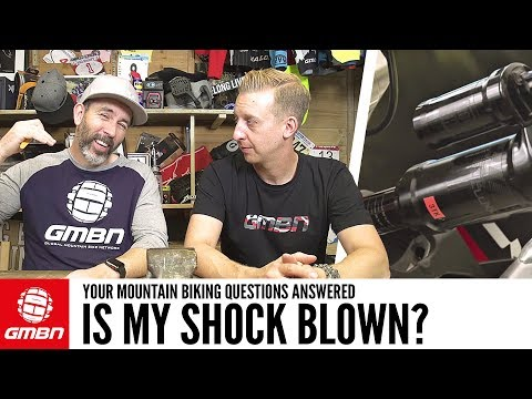How Do I Tell If My Shock Is Blown?   Ask GMBN Anything About Mountain Biking