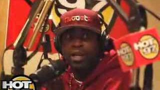 HOT 97- Angie & 50 Cent Interview- Young Buck part 1