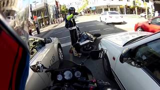 Angry Bikers vs Crazy People  Close Call & Road Range 2018