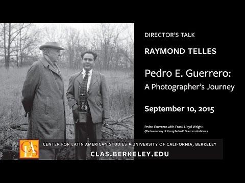 "Director's Talk: ""Pedro E. Guerrero: A Photographer's Journey"""