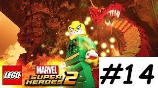 LEGO Marvel Superheroes 2 Walkthrough PART 14 ENTER THE DRAGON!