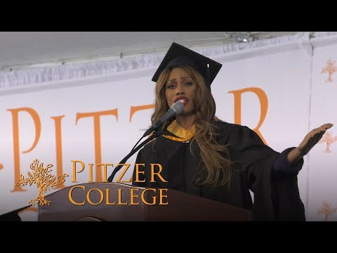 Laverne Cox | 2019 Pitzer College Commencement Keynote | May ...