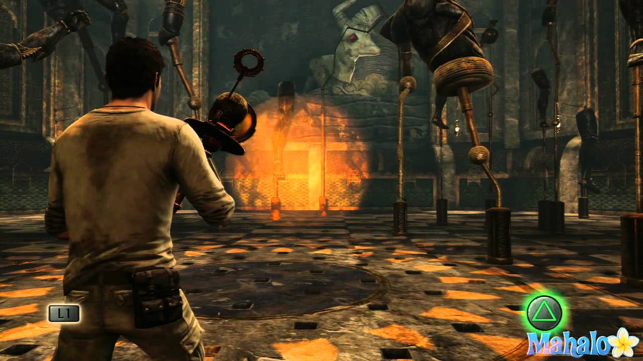 Wonderful Uncharted 3 Walkthrough   Chapter 11: As Above So Below   YouTube Part 3