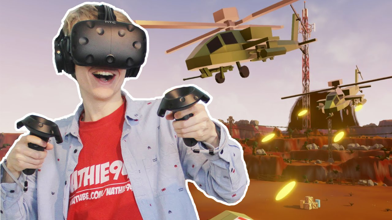 CALL AN AIR STRIKE! | Out of Ammo #5 (HTC Vive Gameplay)