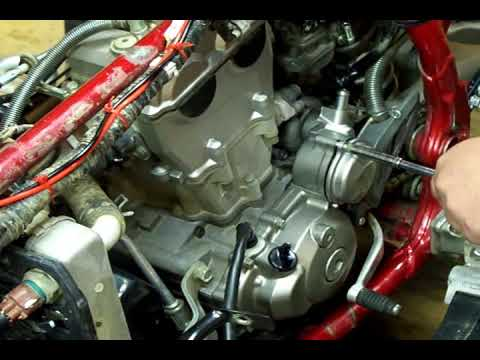 YFZ 450 Stator Video Part 2 - YouTube