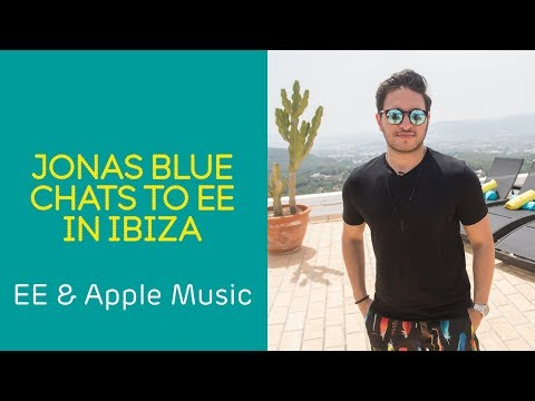 EE speaks to DJ Jonas Blue at Ibiza event to launch new Apple Music offer