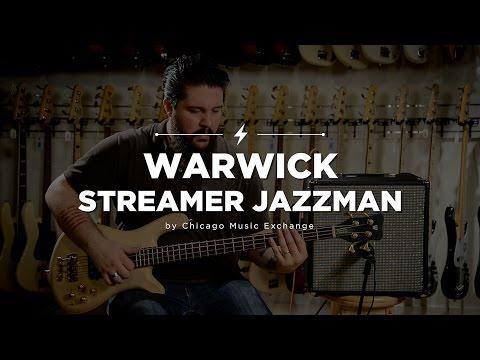 Quick Riffs: Warwick Streamer Jazzman 4-String Bass Guitar
