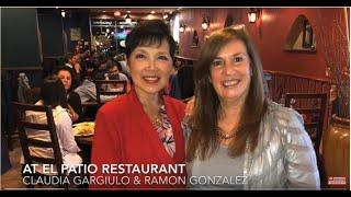 CLAUDIA GARGIULO & RAMON GONZALEZ At El  Patio Restaurant