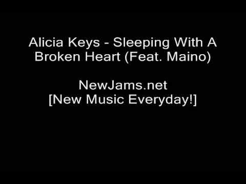 Alicia Keys  Sleeping With A Broken Heart Feat Maino REMIX NEW 2009