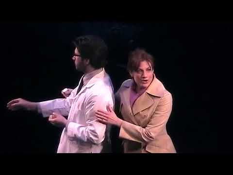Next to Normal Broadway   Jessica Phillips and Kyle Dean Massey