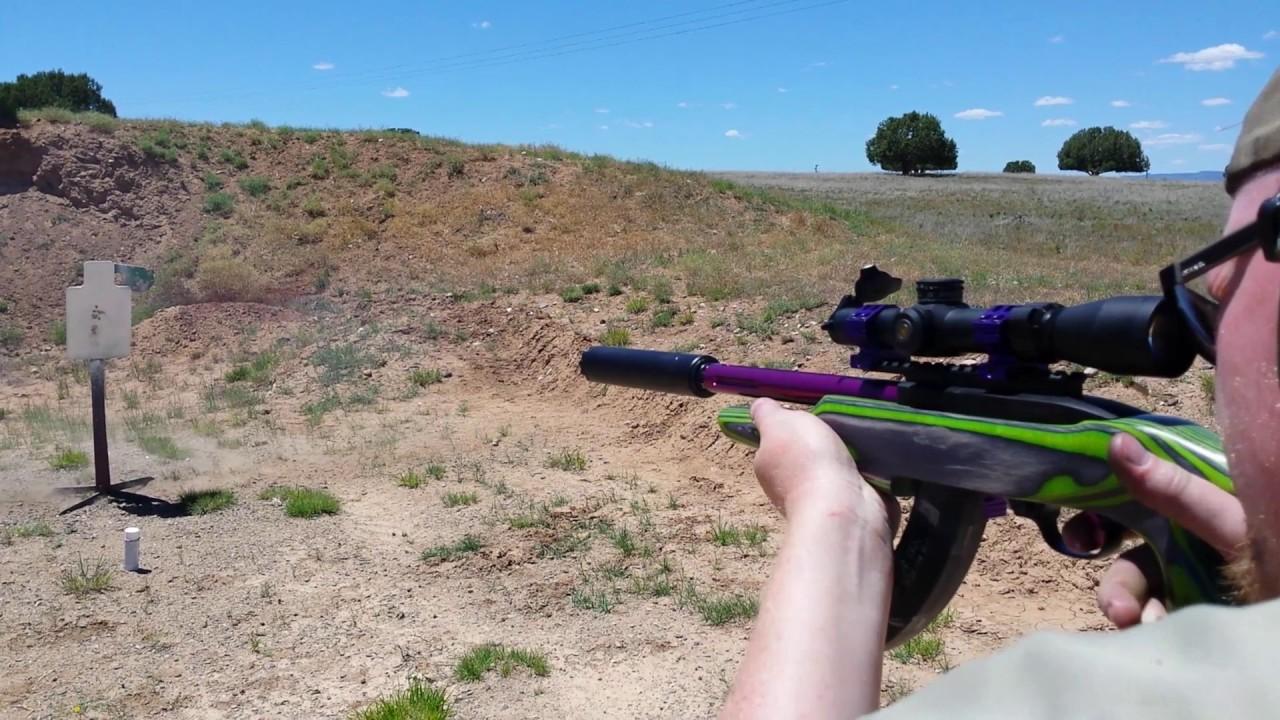 Ruger 10 22 Sbr Isis 2 9mm Silencer Youtube