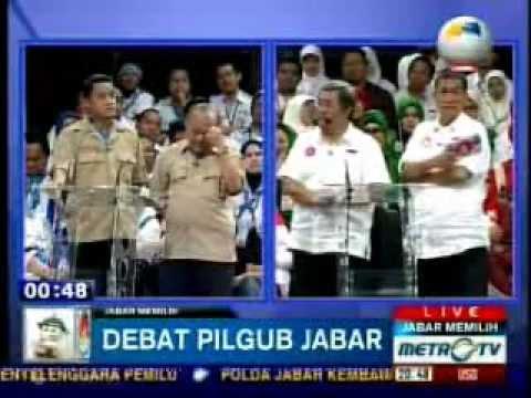 Debat Kandidat PILGUB JAWA BARAT - Metro TV (part 8-8)
