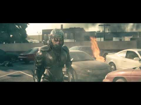 Faora Ul vs Soldiers Man of Steel