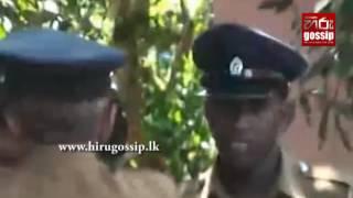 The ordeal police had to go through at Hambantota