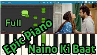 Gambar cover Naino Ki Jo Baat Full - Piano (Notation) | Perfect MIDI