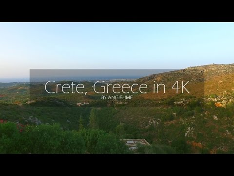 Crete in 4K UHD - 2016 - Greece