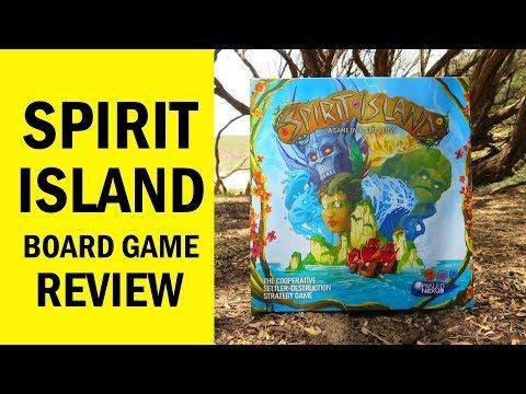Spirit Island Board Game Review & Runthrough