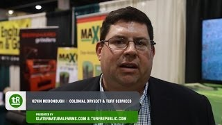 On The Green: New England Regional Turf Grass Show 2014 - Colonial Dryject & Turf Services