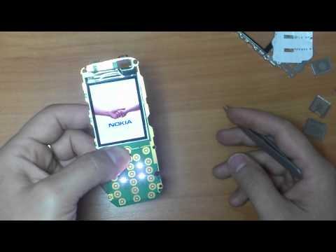 Nokia 5130 ремонт