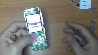 видео Nokia 5130 XM не включается, нуль реакции на кнопку включения