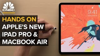 Apple's New iPad Pro and MacBook Air: First Look